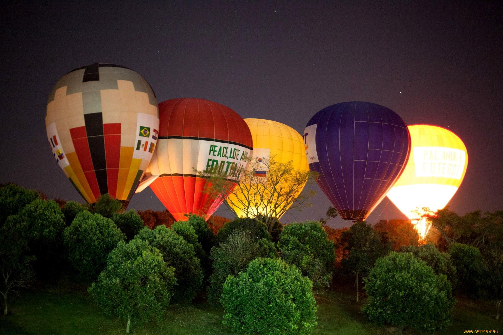 Картинки дирижабля и воздушных шаров